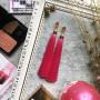 ярко-розовые серьги-кисточки